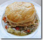 Fall Veggie Chicken Pot Pie