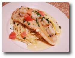 Parmesan Crusted Tilapia Picata