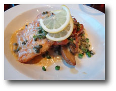 Pan Fried Grouper in a Lemon Caper Butter Sauce
