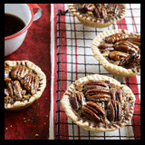 Chocolate-Pecan Tarlets