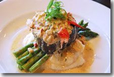 Ophelia's Rich Lobster and Crab Bourbon Cream Sauce
