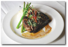 Ancho Chili Coffee-Rubbed Steak with Grand Marnier Butter