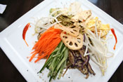 GREEN TEA BUCKWHEAT NOODLE SALAD