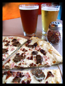 LE HOG PIZZA (as featured on Guy's Big Bite, FOOD Network, 2009)