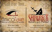 Amico Nave & Shipwreck Gift Card
